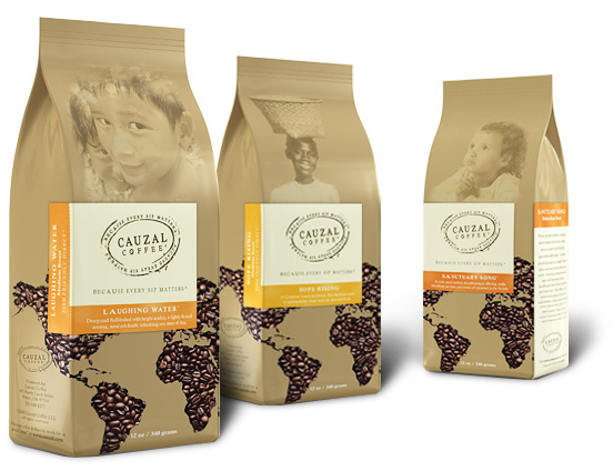 Cauzal Coffee Packaging