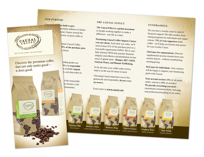 Cauzal Coffee Brochure