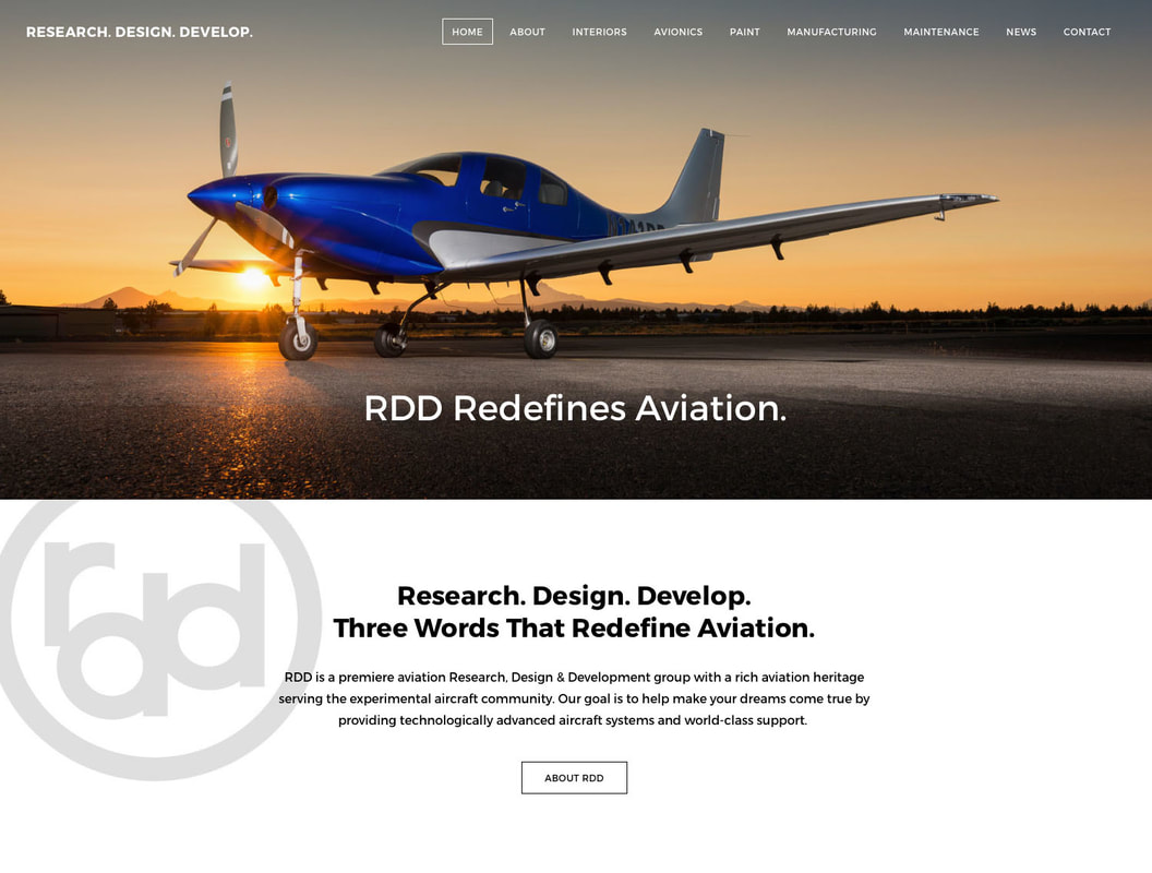 RDD Home Page Design