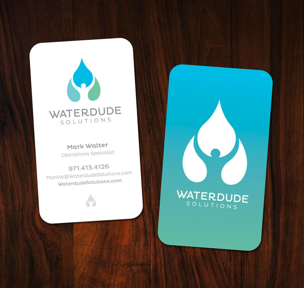 Waterdude Solutions Business Cards