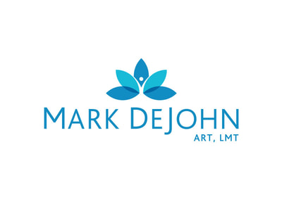 Mark DeJohn logo design