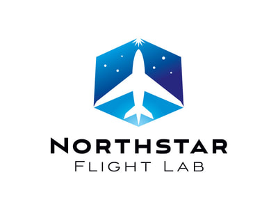 Northstar Flight Lab logo design
