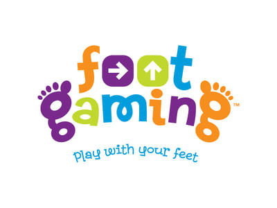 Foot Gaming logo design