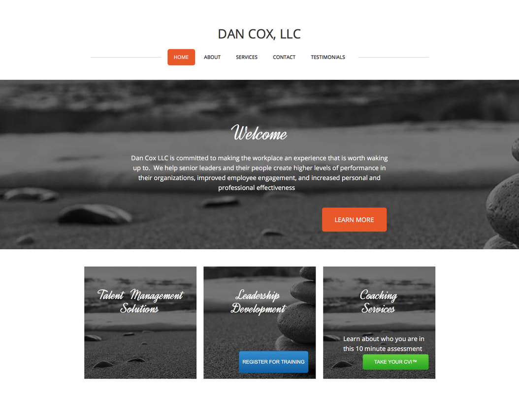 Dan Cox Old Website