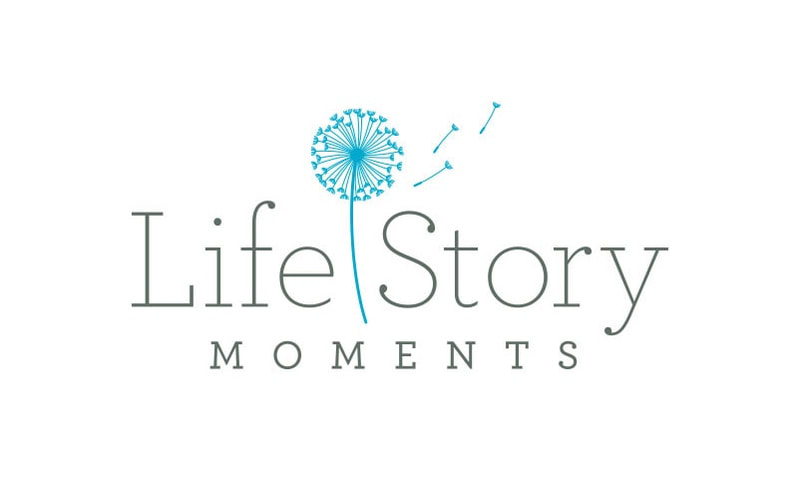 Life Story Moments logo design
