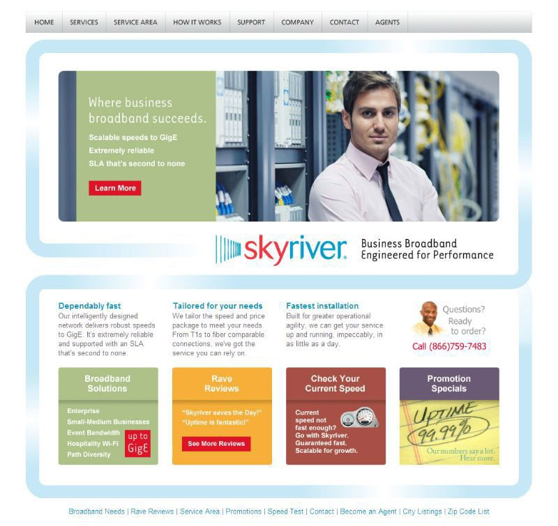 Old Skyriver Website