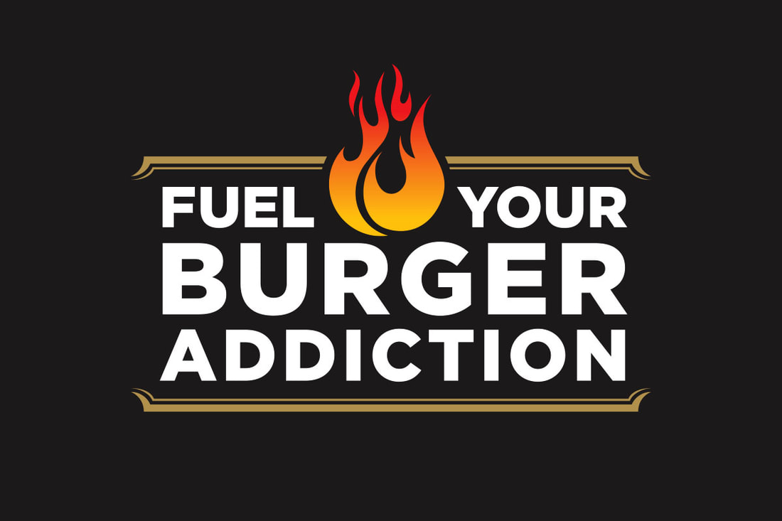 Fuel Your Burger Addiction Logo