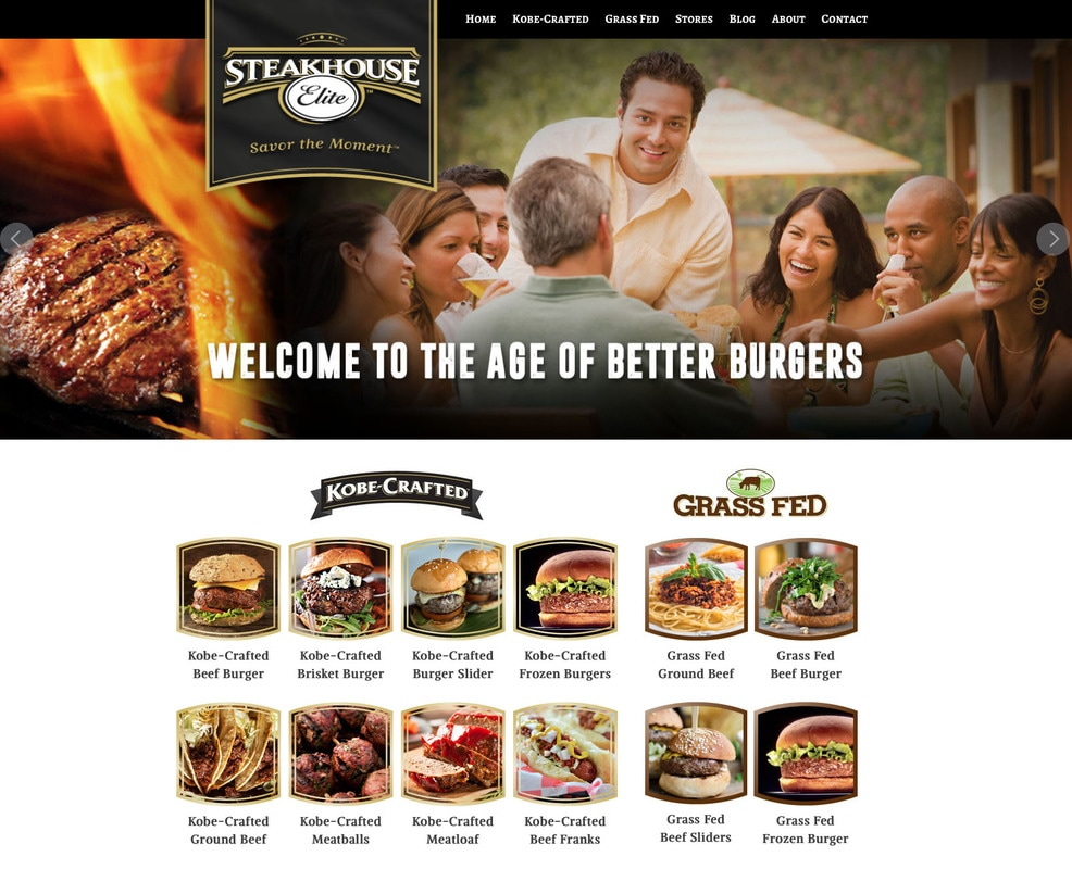 Steakhouse Elite Website Design