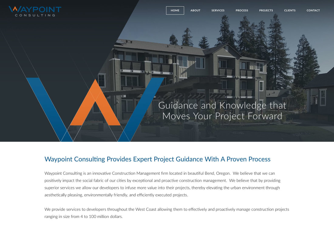Waypoint Consulting Website Design